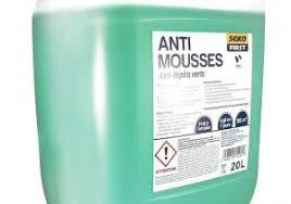 quel produit anti-mousse pour toiture