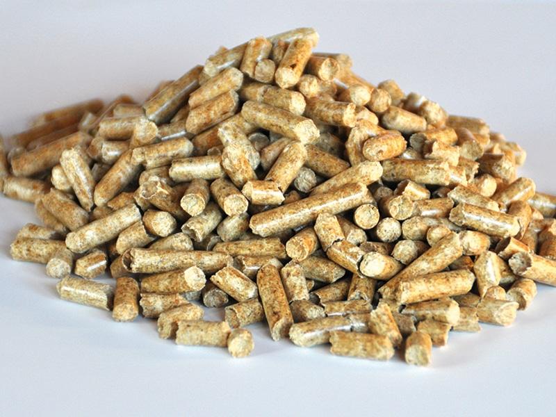 Brûlez du granulé de bois de bonne qualité