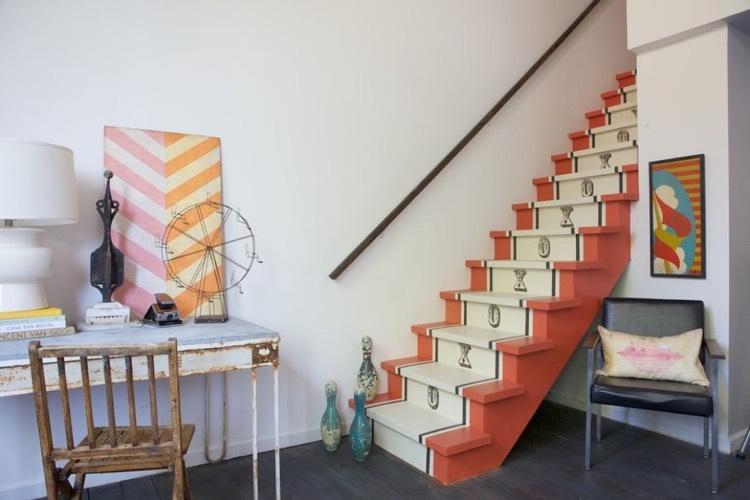 comment décorer un escalier en bois