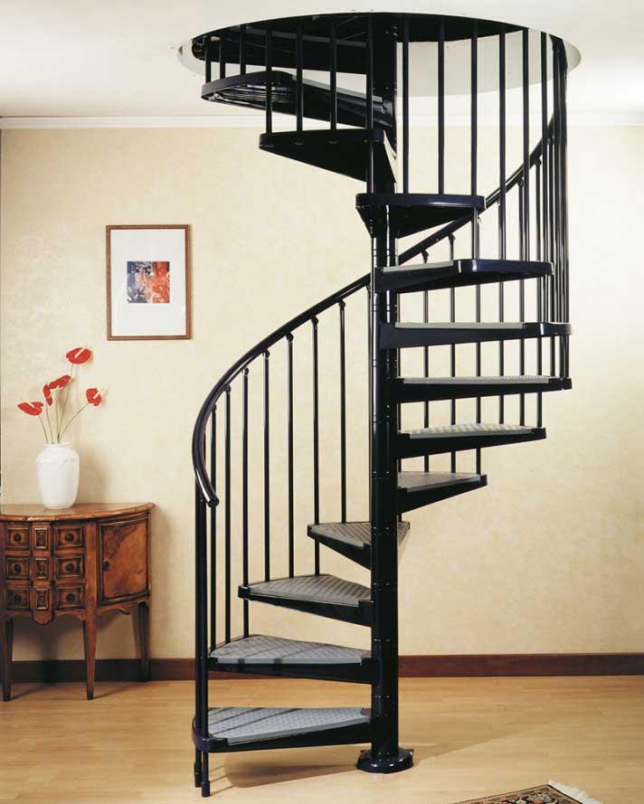 comment faire un escalier en colimaçon