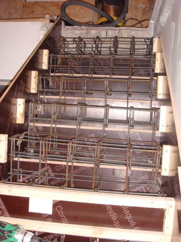 comment ferrailler un escalier
